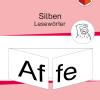 Leseübung, Wörter, Nomen, Anfangsunterricht, Stiftführung, Schreibrichtung, Syntheseübungen, Synthese, Silben, Silbenlesen