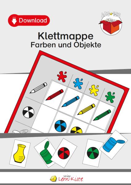 Farben und Objekte - Lern-Kiste Unterrichtsmaterial & TEACCH Mappen