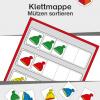 TEACCH, TEACCH Arbeitsmappe, TEACCH Klettmappe, TEACCH-Ansatz, Farben, Formen, Farbunterscheidung, Formunterscheidung, Motorik, Auge-Hand-Koordination