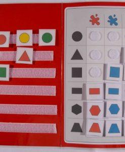 TEACCH Mappe Farben und Formen