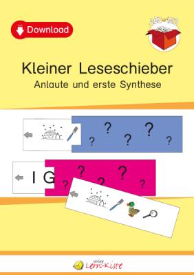 Anlaute, Buchstaben, Synthese, Wörter, erstes Lesen, Leseübung