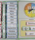 TEACCH Mappe Kalender