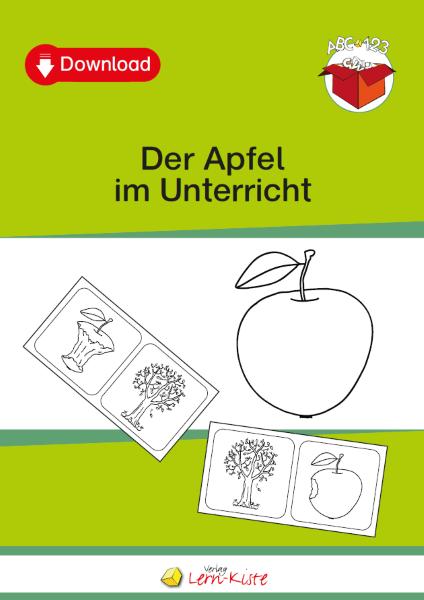 Der Apfel Im Unterricht Lern Kiste Unterrichtsmaterial Teacch Mappen
