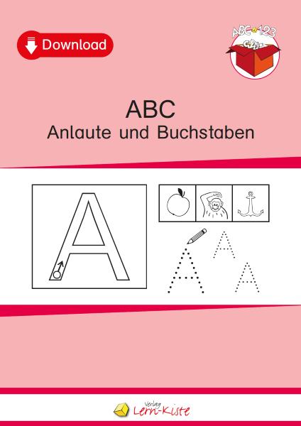 ABC Anlaute und Buchstaben - Lern-Kiste Unterrichtsmaterial & TEACCH ...