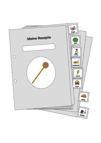 Kochbuch, Kochbuchregister, Rezepte, Kochen, Hauswirtschaft, Register