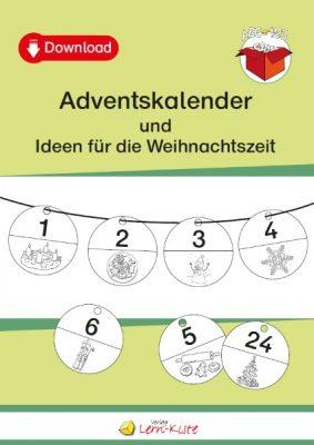 Weihnachten, Advent, Adventskalender