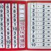 TEACCH, Multiplikation, ZR 100, Zahlenraum 100, Einmaleins, Kleines Einmaleins, 2er Reihe