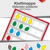Teacch, Farben, Ostern, Ostereier