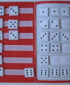 Würfelbilder, TEACCH, Punktbilder, Mengen, Zahlenraum bis 6, ZR bis 6