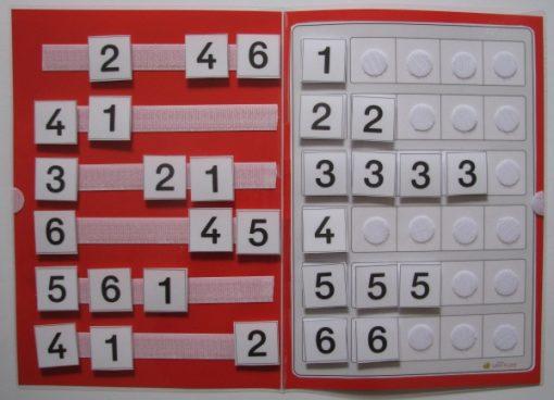 TEACCH, Ziffern, Zahlen