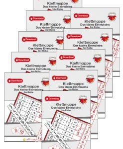TEACCH, Multiplikation, ZR 100, Zahlenraum 100, Einmaleins, Kleines Einmaleins