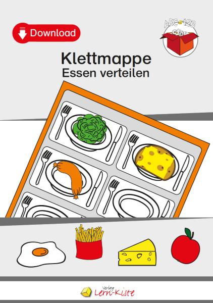 TEACCH, Arbeitsmappe, Klettmappe