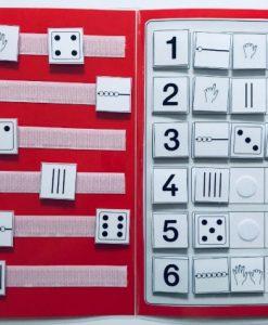TEACCH, ZR bis 6, Zahlenraum bis 6, Zählen, Mengen, Mengenerfassung, Zahlen, Ziffern
